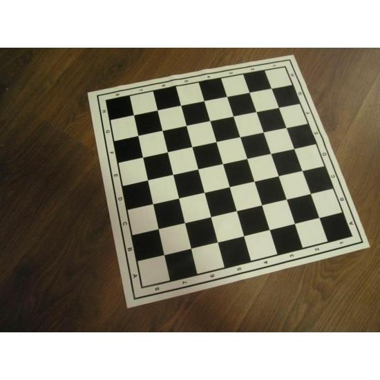 PVC kétoldalas sakktábla+malom