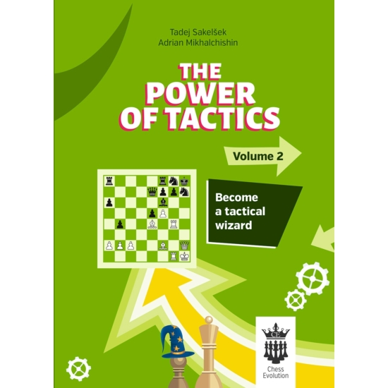 IM Tadej Sakelsek & GM Adrian Mikhalchishin - The Power of Tactics V2