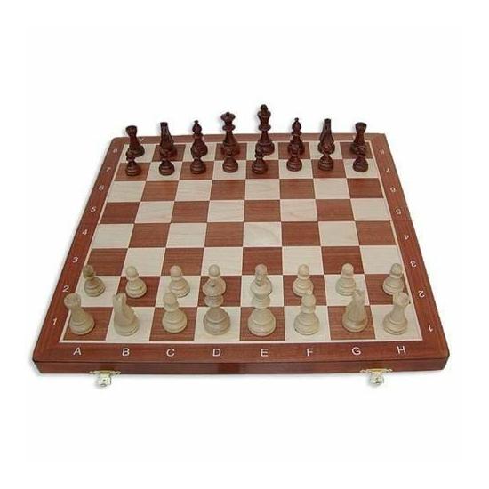 Tournament 5 intarziás fa sakk-készlet