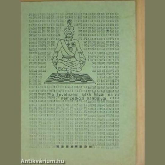 A levelezési sakk hazai és nemzetközi szabályai
