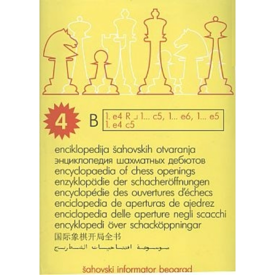 Encyclopaedia of chess openings 4 B