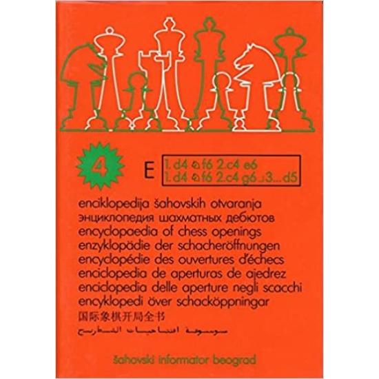 Encyclopaedia of chess openings 4 E