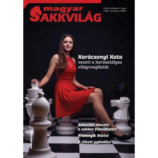 Magyar Sakkvilág nyomtatott magazin előfizetés