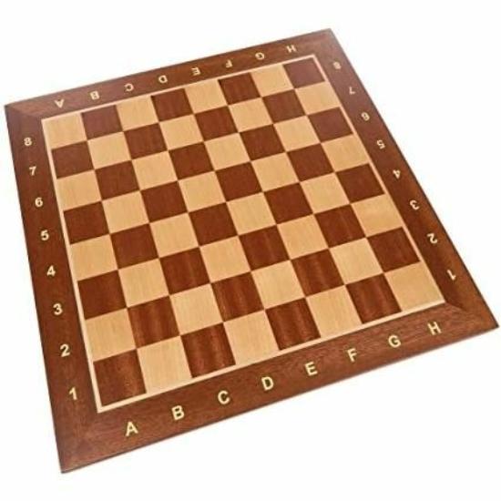 Minőségi Kivitelű Intarziás sakktábla 3-as méretben