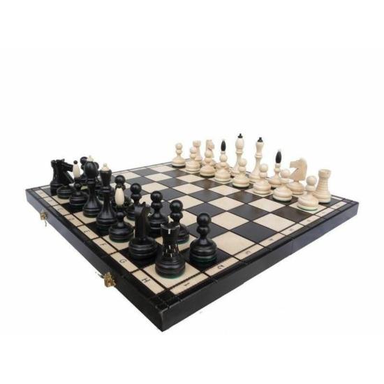 127-es sakk-készlet: sakktábla és figurák