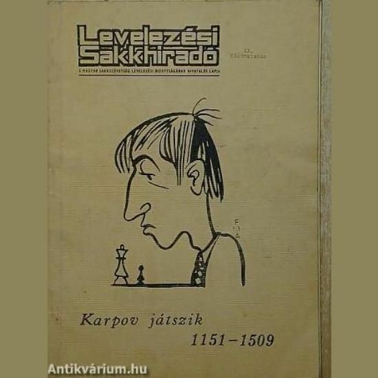 Levelezési sakkhíradó-Karpov játszik