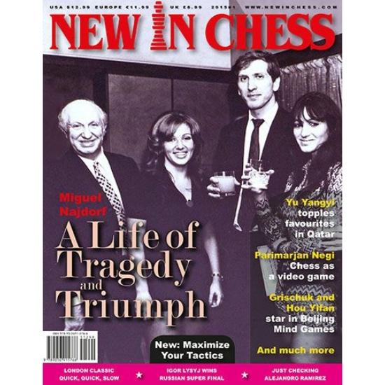 New in Chess 2015 teljes évfolyam