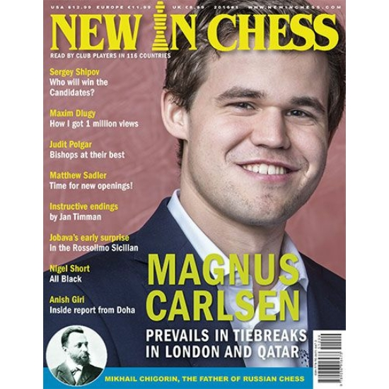 New in Chess 2016 teljes évfolyam