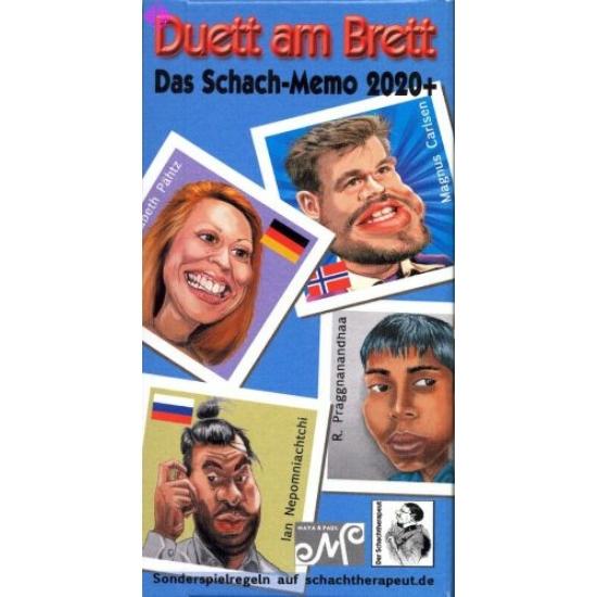 Duett a táblán - Duett am Brett - Sakk memóriakártya-játék