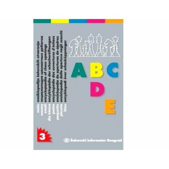 Small Encyclopaedia of Chess Openings 3 ABCDE