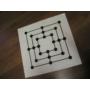 Kép 2/2 - PVC kétoldalas sakktábla+malom