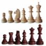 Kép 2/3 - Tournament 5 intarziás fa sakk-készlet
