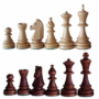 Kép 3/3 - Tournament 3 fa intarziás és mágneses sakk-készlet 140F
