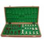 Kép 2/3 - Tournament 3 fa intarziás és mágneses sakk-készlet 140F