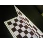 Kép 2/2 - Félbehajtható műanyag sakktábla Tournament 5-ös